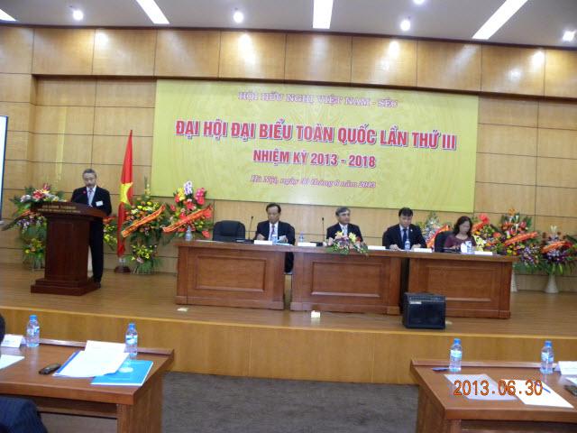 Thông báo triệu tập Đại biểu dự Đại hội Đại biểu toàn quốc Hội Hữu nghị Việt Nam - Séc lần thứ IV, nhiệm kỳ 2019 - 2024